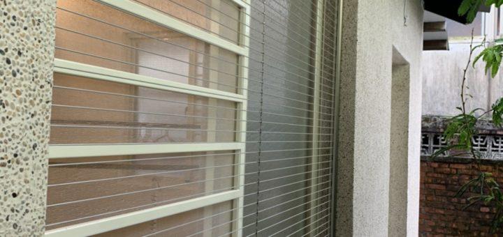 防貓隱形鐵窗