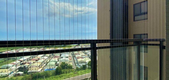 高高順隱形鐵窗防墜網